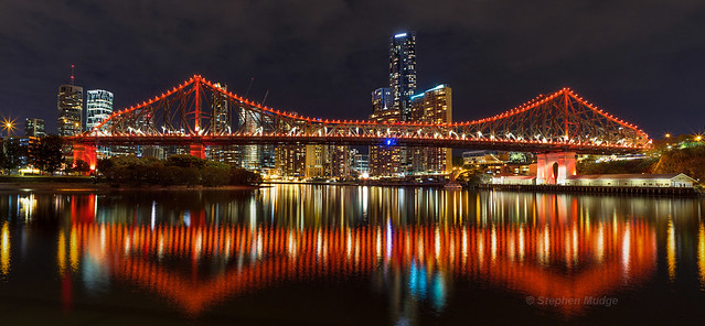 Story Bridge reflections