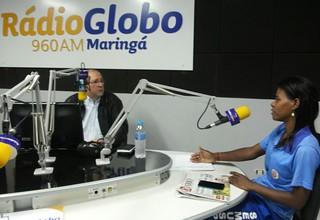 ROSE DA COLETA radio globo ananias rodrigues