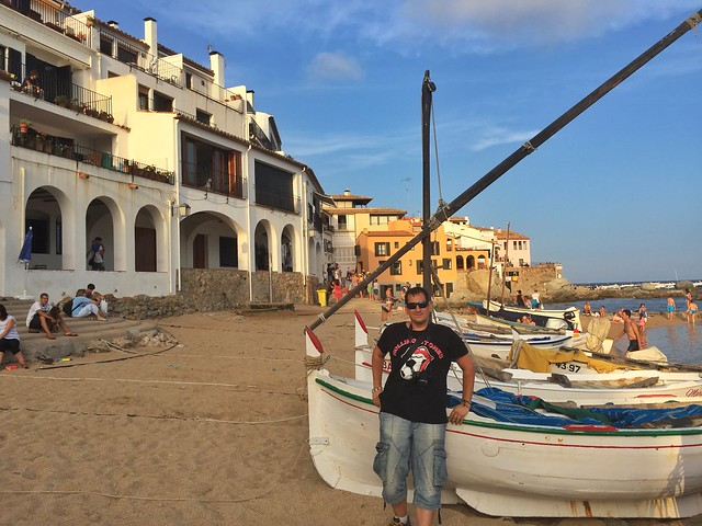 Sele en Calella de Palafrugell (Costa Brava)