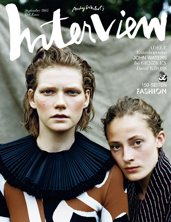 INTERVIEW GERMANY SEPTEMBER 2015 COVER