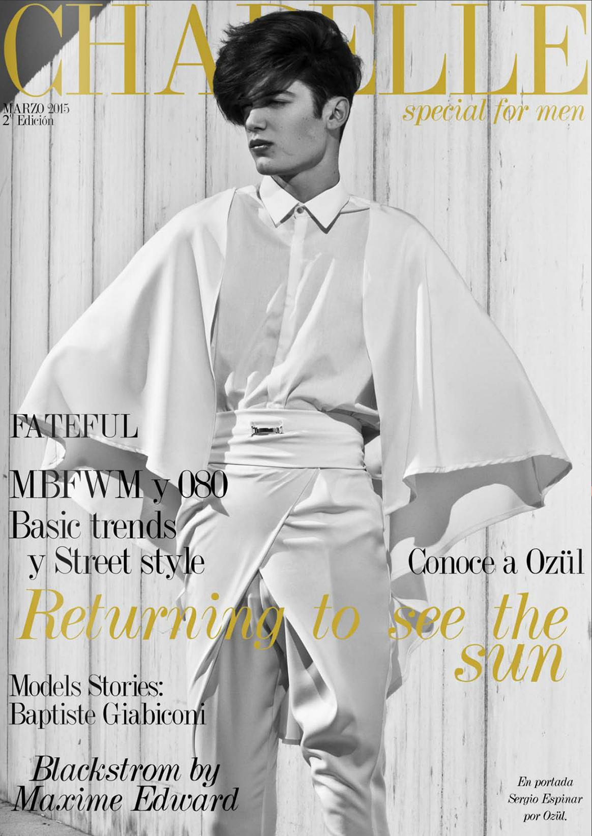 chapelle magazine, valencia spain fashion issue, chapelle for men, moda masculina VLC special men, revista diseño moda españa