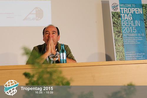 Miguel Altieri at Tropentag