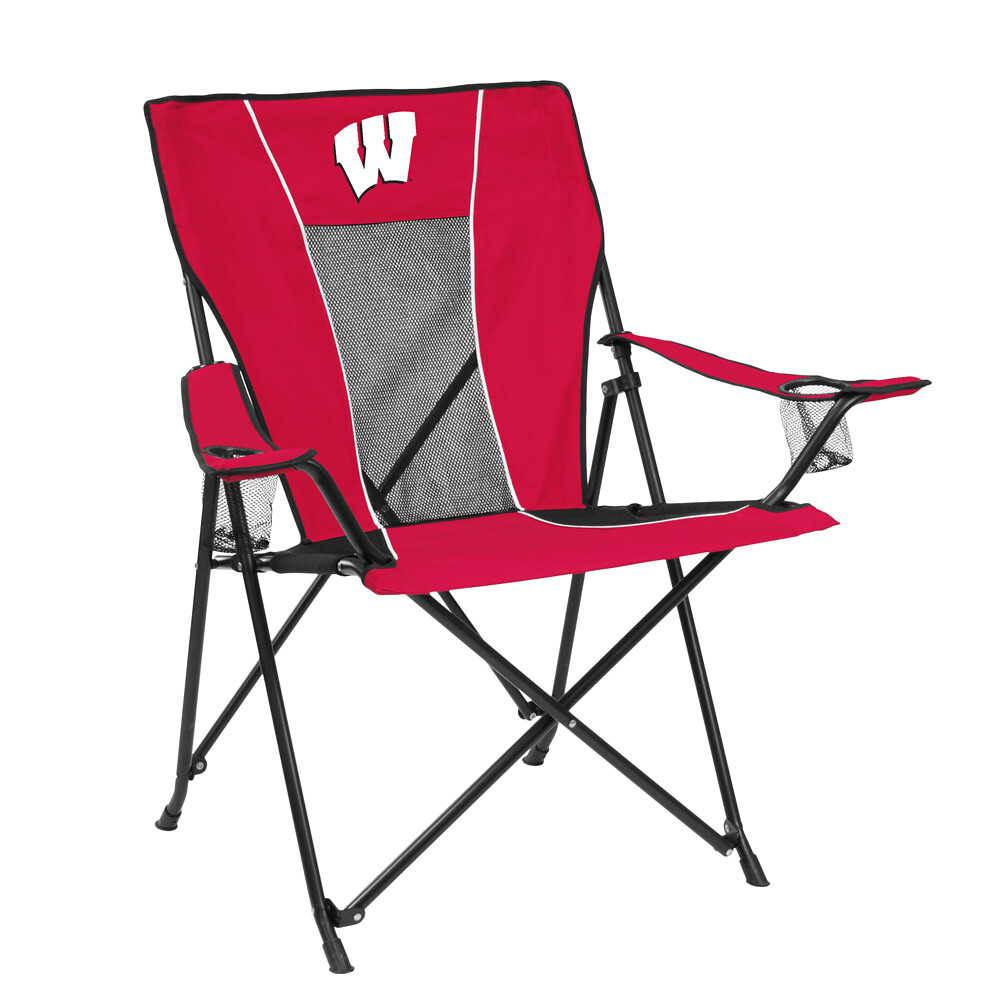 Wisconsin GAME TIME TailGate/Camping Chair