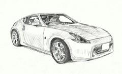 automobile, automotive exterior, wheel, vehicle, performance car, automotive design, nissan 370z, bumper, land vehicle, supercar, sports car,