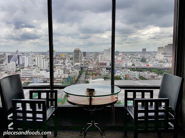 siam siam bangkok executive longue view