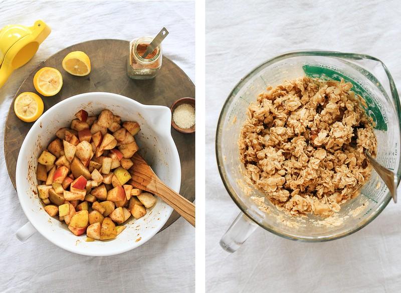 Healthy Rustic Apple & Pear Crisp