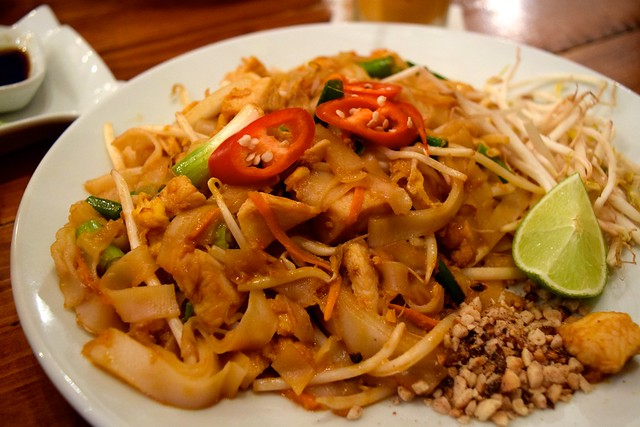 Spicy Pad Thai at KIN, Clerkenwell | www.rachelphipps.com