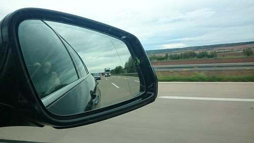 Blinder Passagier bei 240km/h