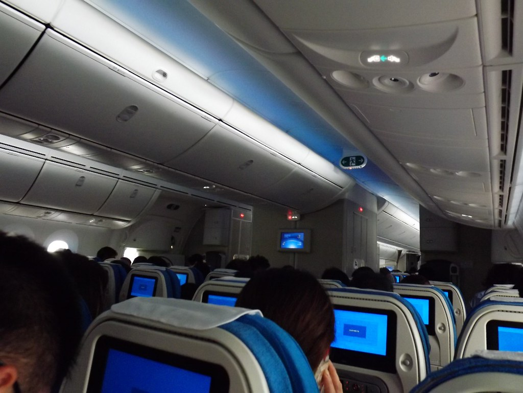 Xiamen Air Boeing 787 cabin light