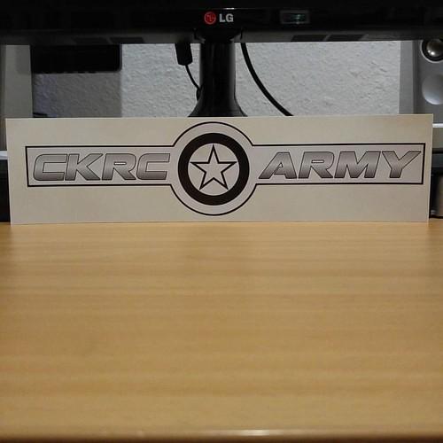 Thanks @ckrccrawlers #CKRCarmy Sticker :) I ❤ them!