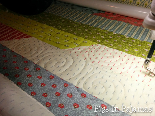 Some longarm sewing