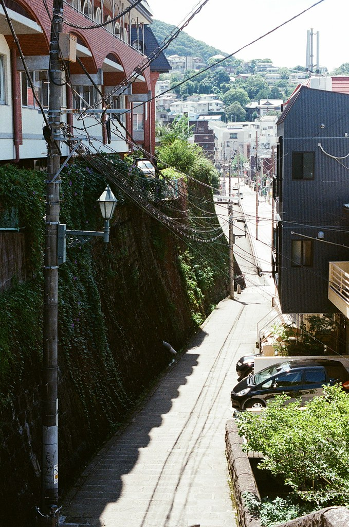 荷蘭坂 長崎 Nagasaki 2015/09/08 巷弄間的一景  Nikon FM2 / 50mm Kodak UltraMax ISO400 Photo by Toomore