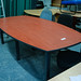 Cherry boardroom table