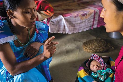 Community Health Volunteers Ensure Maternal Health