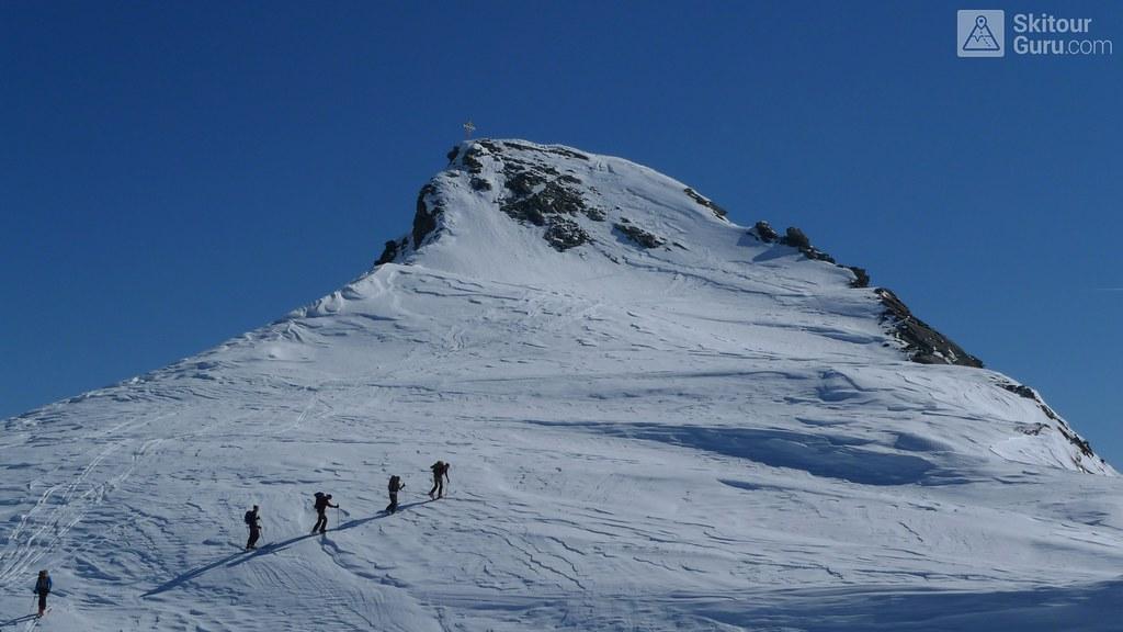 Hinterer Seelenkogel 3472 m, Langtalerechhütte, Ötztaler Alpen, Obergurgl, Tirol, Austria,
