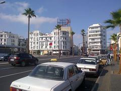 Artierial road, Casablanca