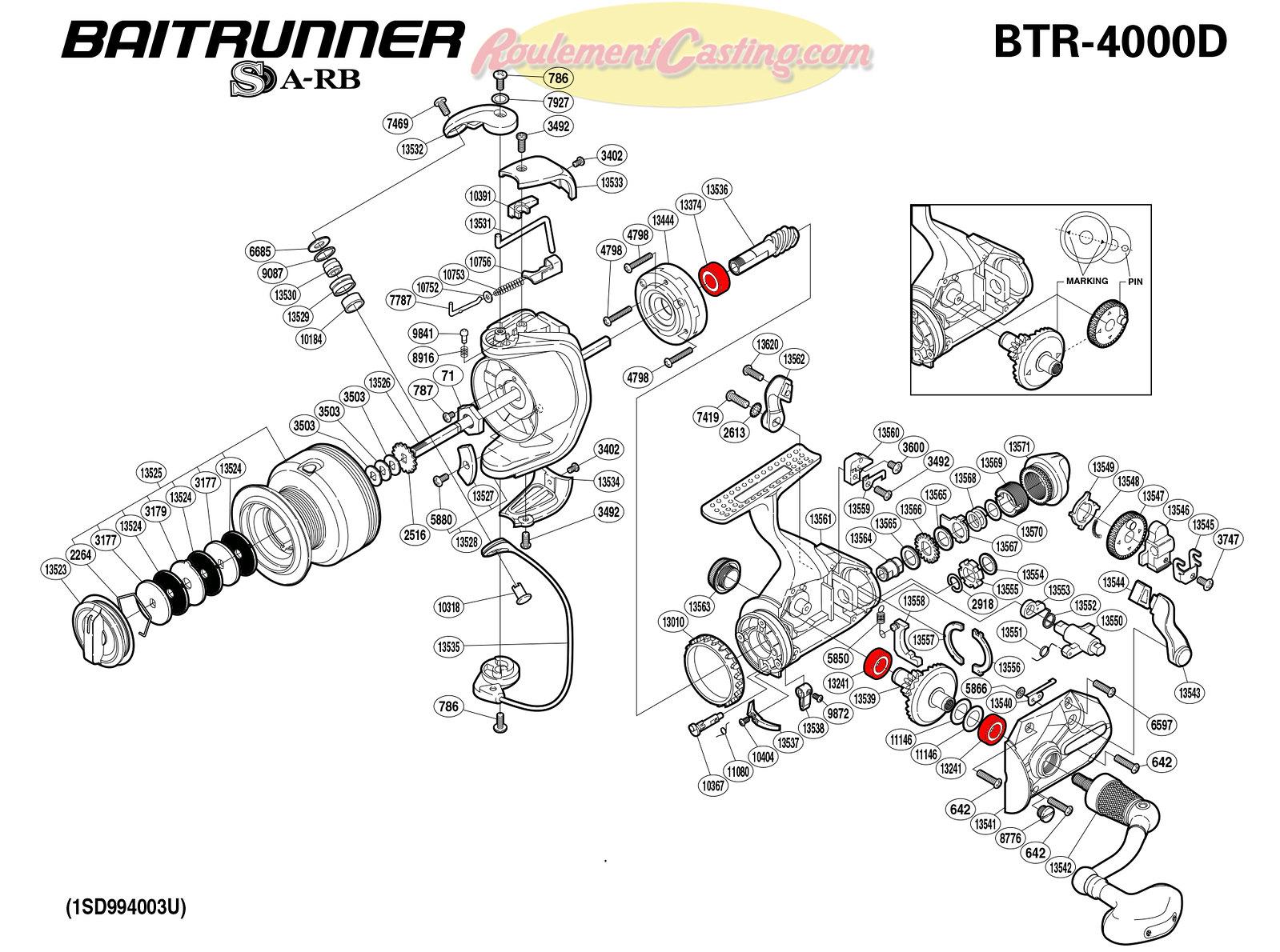 Schema-Shimano-BAITRUNNER-4000D