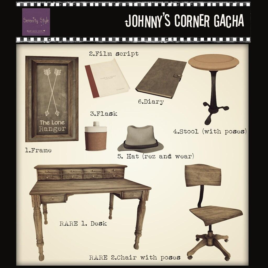 Serenity Style-Johnny's Corner Gacha- Shiny Shabby