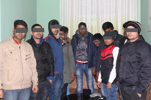 В Рівному затримали нелегалів із Шрі-Ланки та Індії
