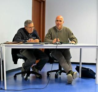 Casamassima-Il problema delle acque reflue di Casamassima-Da sinistra Giancarlo D'Addabbo e Vito Cessa