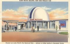 Elgin Watch Building - 1939 New York World's Fair