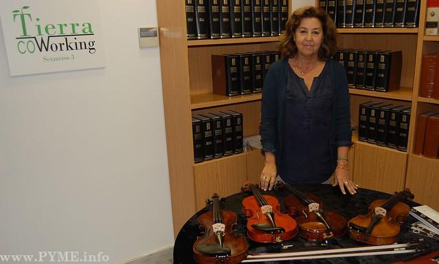 Victoria de Francisco: Instrumentos de cuerda Clemente & de Francisco (CDF Instruments).