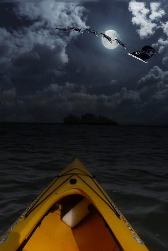 Christmas Eve Kayaking