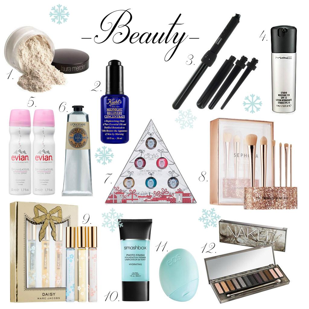 Beauty christmas gift guide