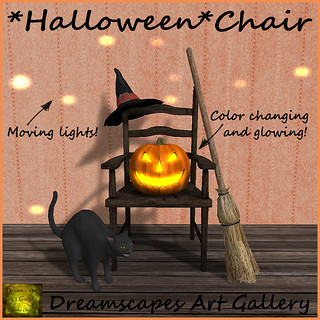 *Halloween* Chair - Dreamscapes Art Gallery for Boo! Bunny Hunt 5