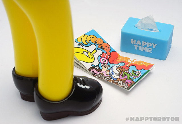 """來自台灣設計師""""舉牌小人""""的最新力作!「快樂胯下Happy Crotch」色色的登場"""
