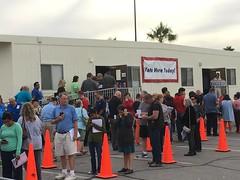 Early voting in Las Vegas