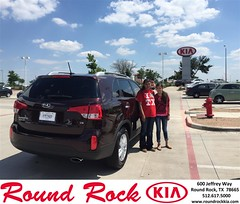 #HappyBirthday to Veronica from Jorge Benavides at Round Rock Kia!