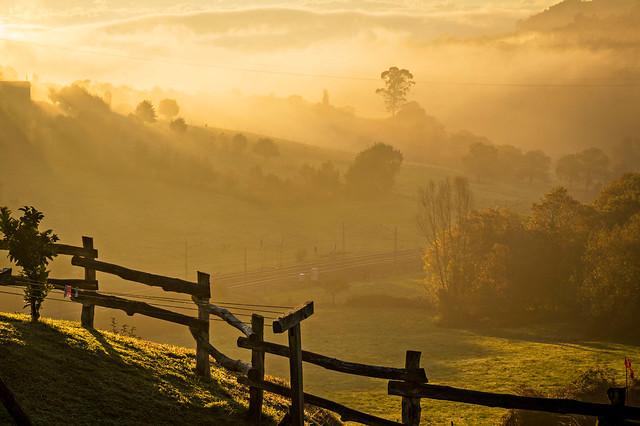 De mañana..Cuando el sol todo lo ilumina.
