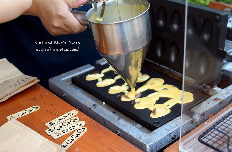 美術館綠園道魚刺人雞蛋糕09