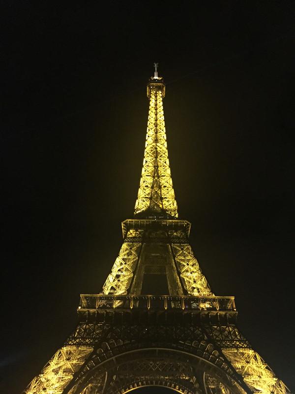 Fraser, Charles; Paris, France - A Bientot Paris - Nighttime