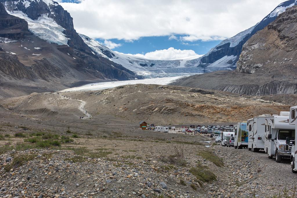 Jasper National Park, Athabasca Glacier