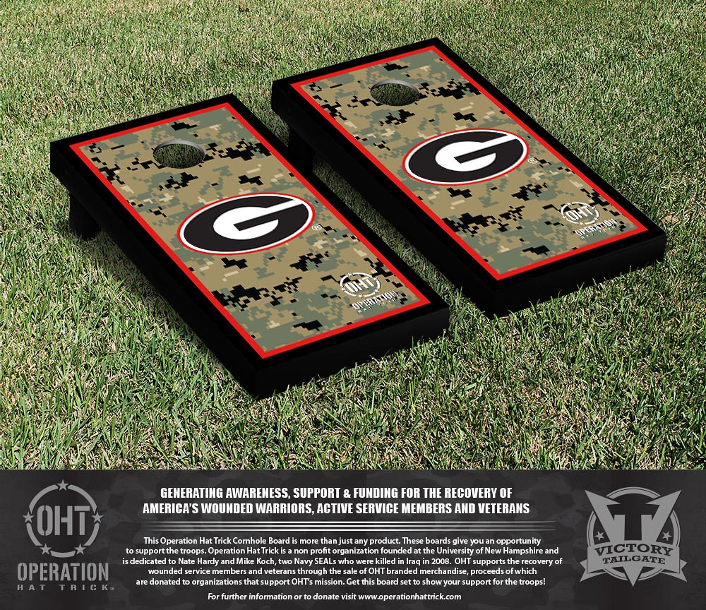 Georgia Bulldogs Operation Hat Trick Border Version