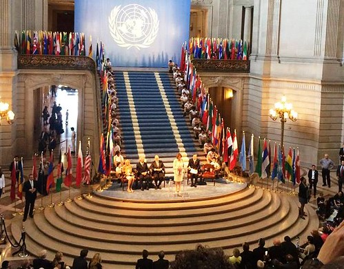 Congresswoman Pelosi celebrates the 70th Anniversary of the United Nations Charter