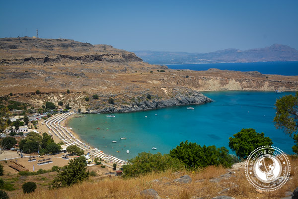 Agathi Beach Rhodes Greece