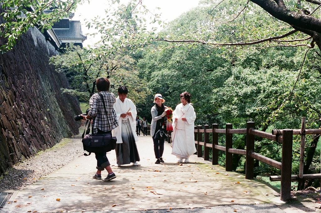 熊本城 熊本 Kumamoto 2015/09/06 想想好像錯過好多東西 ...  Nikon FM2 / 50mm AGFA VISTAPlus ISO400 Photo by Toomore