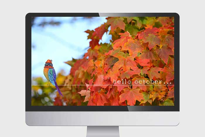 October Desktops