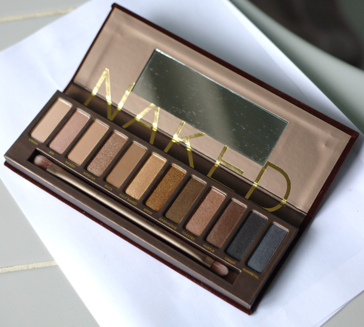 Naked original palette review