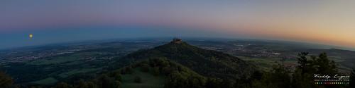2015 27 28 hohenzollern blood burg castle daynight freddyenguix full germany moon pano panorama panoramic september sunrise super supermoon albstadt badenwürttemberg