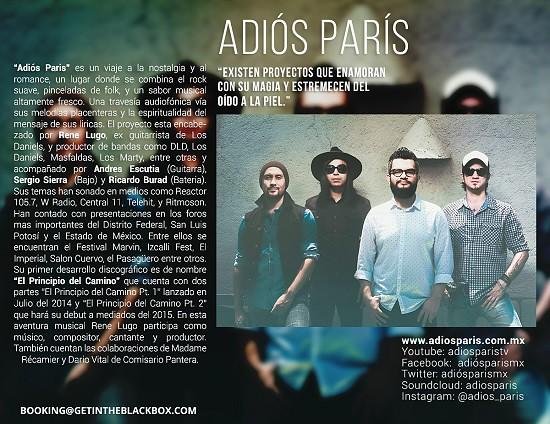 Adiós-Paris