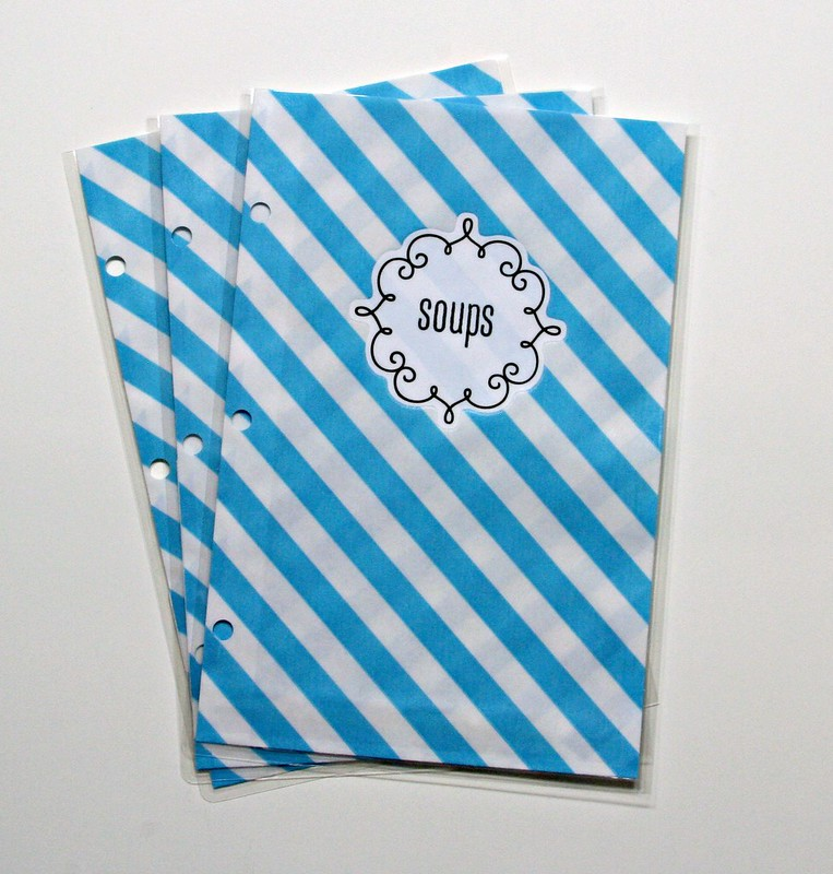 Bitty Bag Recipe Binder | shirley shirley bo birley Blog