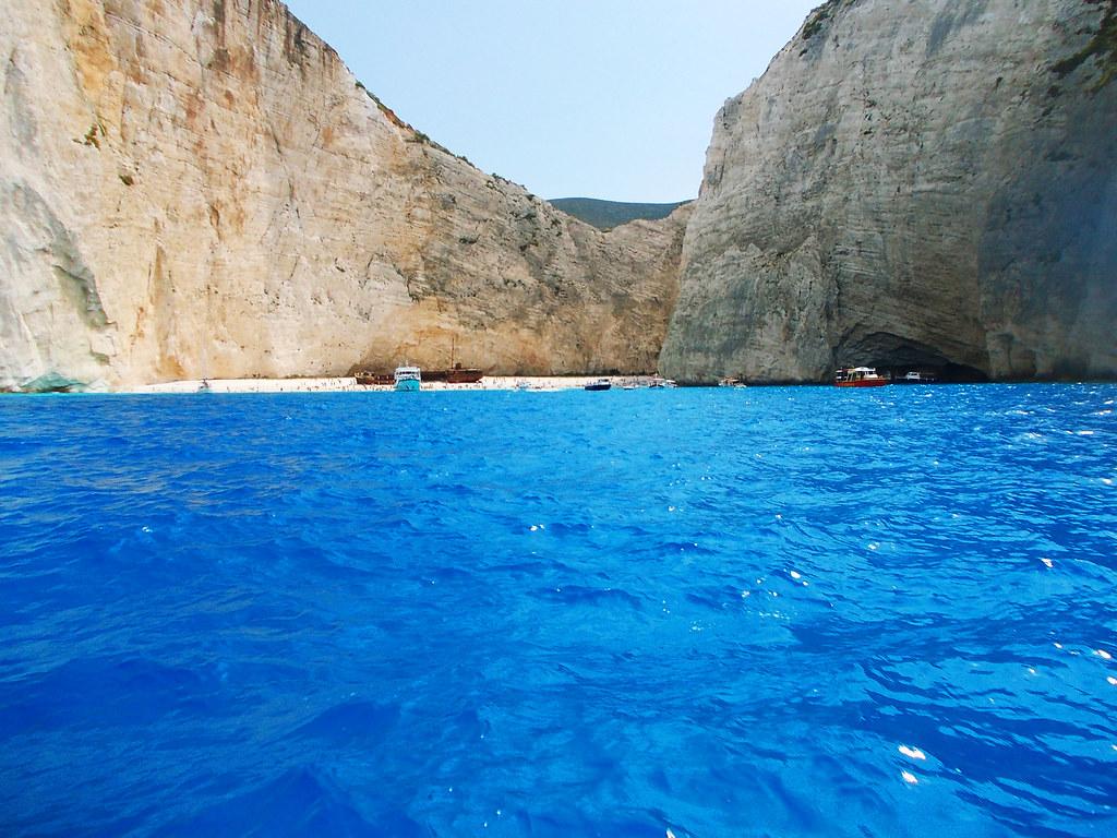 Navaggio Beach, Zakynthos, Greece
