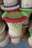 Delhi - basket weave stools for sale £2.50 - bargain!