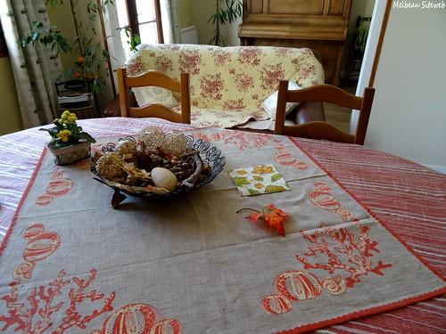 Dans la maison d'automne
