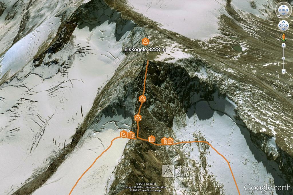 Eiskögele Ötztaler Alpen / Alpi Venoste Rakousko foto 02