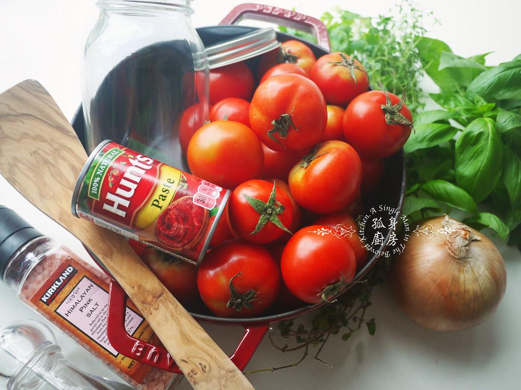 孤身廚房-義大利茄汁紅醬罐頭--自己的紅醬罐頭自己做。不求人3